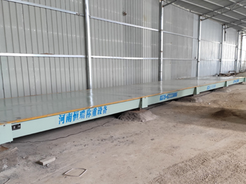 南阳南召县辛兴建材16m-120吨地磅