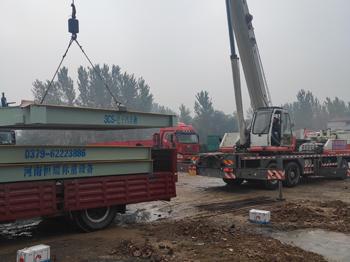 周口鹿邑豫东物流18m-150吨地磅