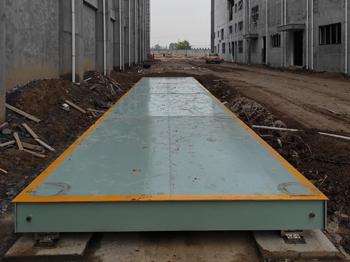 新乡市卫辉俊杰食品18m-100吨地磅