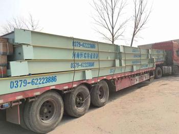 山西诚昆建材三台3.3m-16m-100吨汽车衡