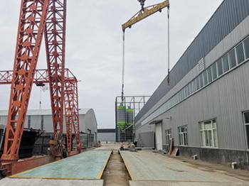 濮阳天工新型建材20m-200dun地磅