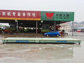 平顶山叶县兴民农机合作社50吨地磅