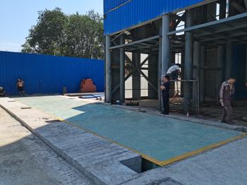 河南(安阳)鑫阳冶金公司150吨地磅